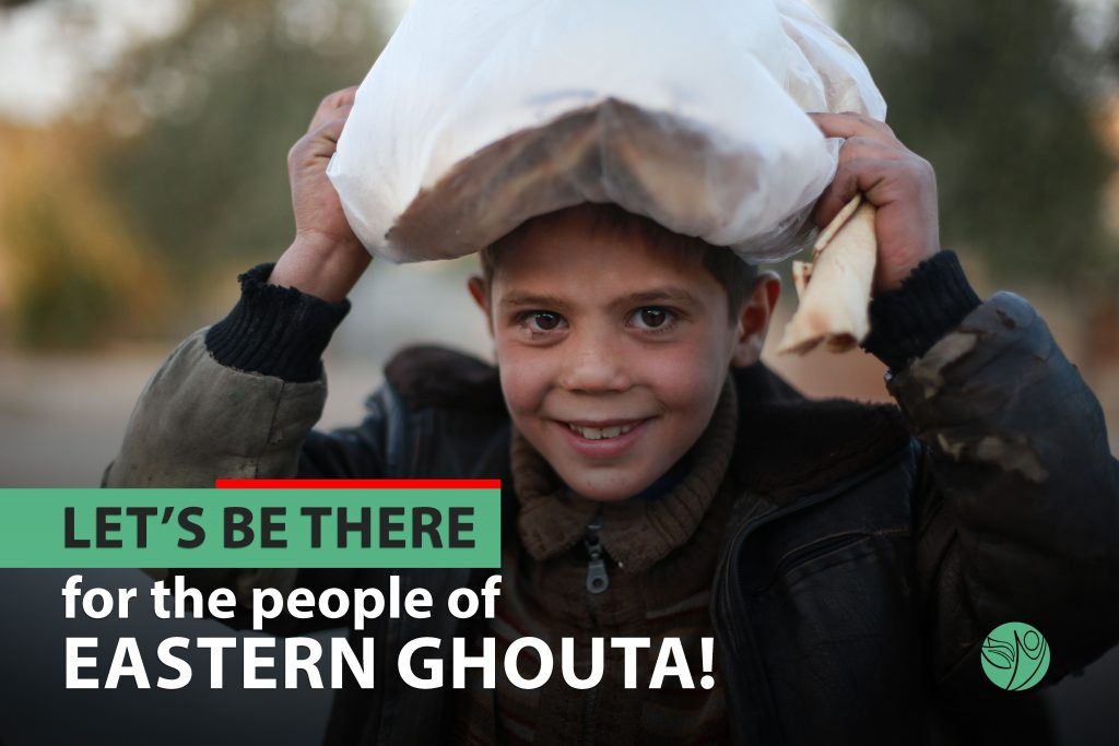 Let us be there for Eastern Ghouta