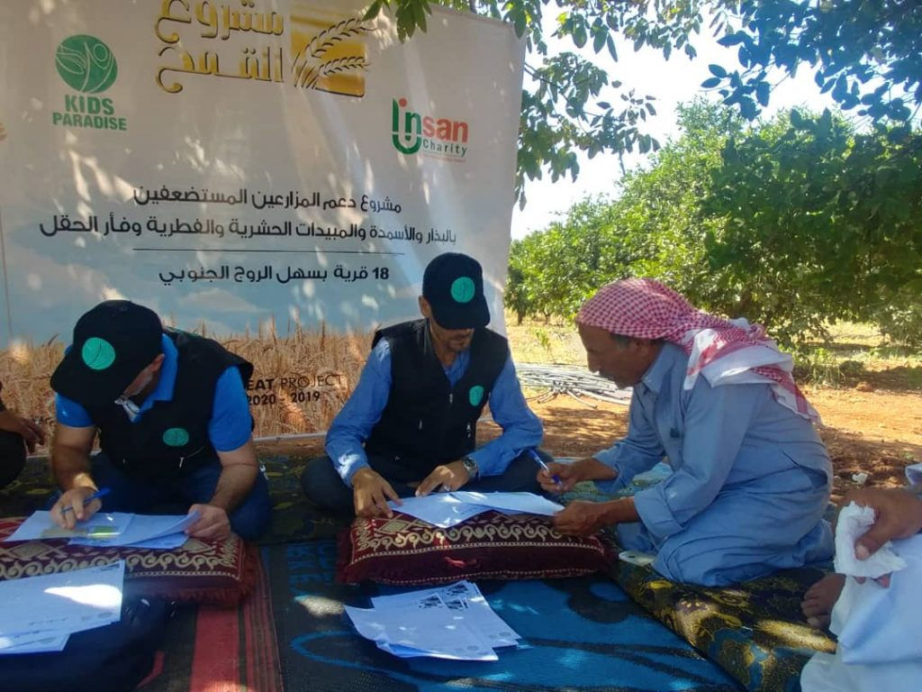Support Resilience through Humanitarian Assistance and Income Generating Livelihood in North-West Syria